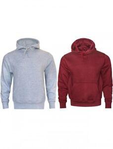 cbe73dfd3c27 16sixty Men s Plain Pullover Warm Hoodie Sweatshirt Unisex Fleece ...