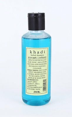 New Khadi Green Apple &Conditioner Shampoo Herbal Product Natural Goodness