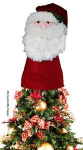 Pottery Barn Kids Santa Tree Topper Nib Add Some Fun To