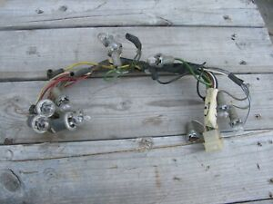 wiring harness 1966 fairlane gt 1966 ford fairlane 500 xl gt instrument cluster wire harness ebay  1966 ford fairlane 500 xl gt instrument