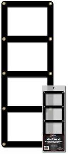 BCW-Black-Border-Screwdown-4-Card-Standard-Trading-Card-Holder-Qty-1
