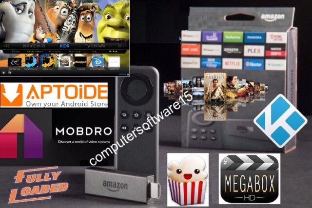 KODI AMAZON FIRE TV STICK remote Install Service-MOBDRO,APTOIDE,POPCORN,MEGABOX