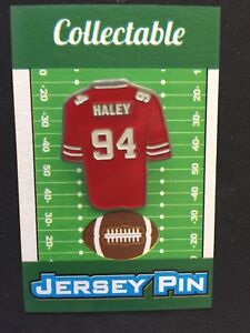 purchase cheap f2c83 52eb9 San Francisco 49ers Charles Haley lapel pin-Classic Niner ...