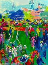 Kentucky Derby Horse Race Run for the Roses Travel Advertisement Art Poster