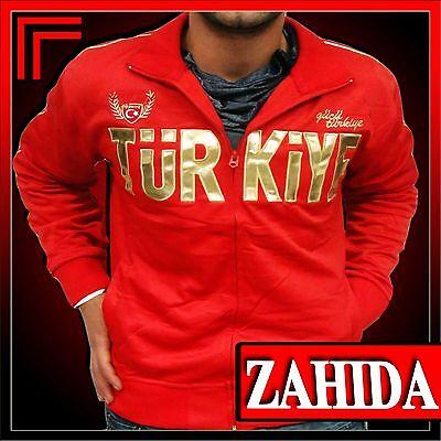 Jogging Jacke Turkey Türkei Türkiye Chile Glanz Lack Leder