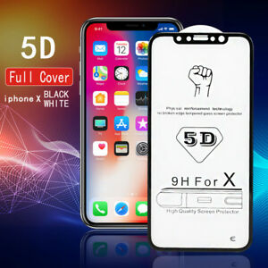 US-9H-5D-Full-Cover-Curved-Tempered-Glass-Screen-Protector-For-iPhone-8-Plus-X