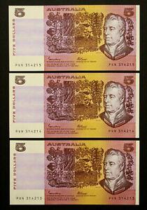 Australia-1985-Johnston-Fraser-OCRB-5-Banknote-With-039-C-039-PIL