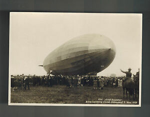 1929 Mint Cppr Graf Zeppelin Atterrissage Suisse Lz 127 Véritable Photo bw4jHoPZ-08044423-958159492
