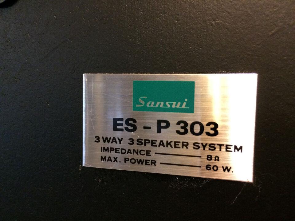 Sansui ES-P303 – sjældne vintage højttalere