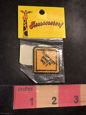 00Y5 NOS Old Stock PHONE SIGN TELEPHONE Patch In Package Patch Is Small Size
