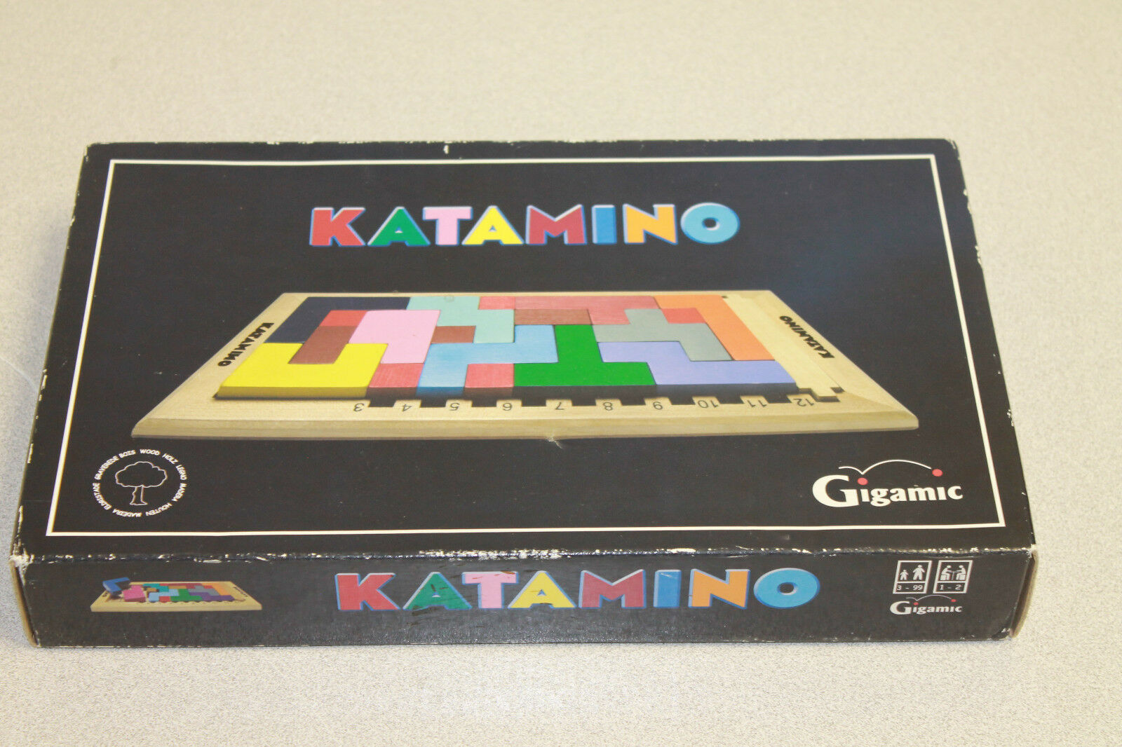 Katamino Deluxe Deluxe Deluxe Board Game 2D 3D Puzzle Strategic Challenges 674e10