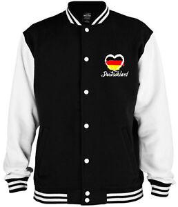 Fussball Damen T-Shirt Deutschland Herz weiß WM EM Fanartikel