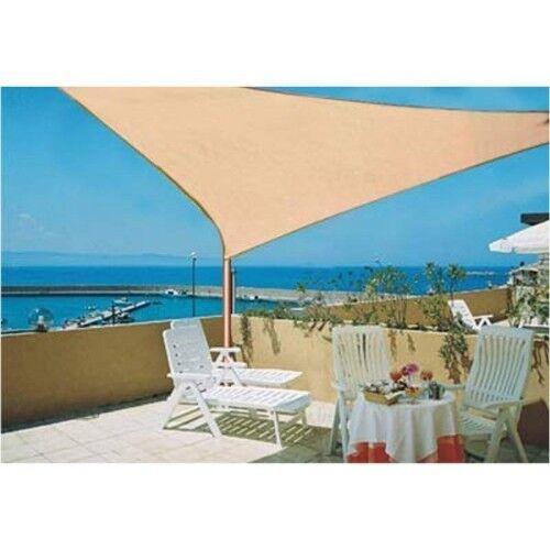 Sonnensegel versch. Größen Sonnenschutz Windschutz Schattensegel Segel UV-Schutz