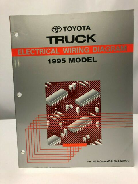 1995 Toyota Truck Electrical Wiring Diagram Oem