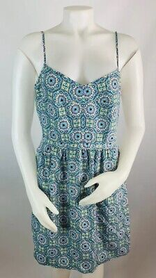 New J Crew Women/'s Printed Seaside Floral Cami Summer Dress Size 10 12 14