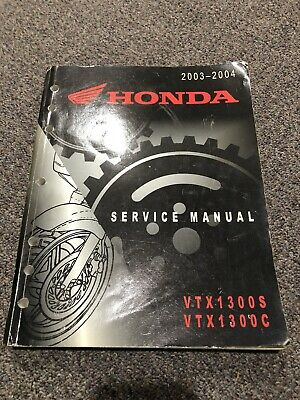 Clymer Repair Manual for Honda VTX1300 C/R/S/T 03-09 Automotive ...