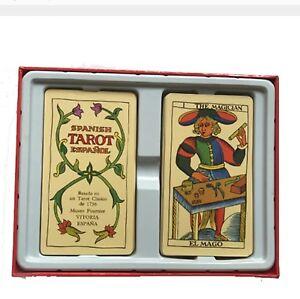 English-Spanish-Espanol-Tarot-78-cards-Board-Game-Divination-deck-board-game