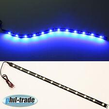 LED Strip Leiste Lichtleiste 12V Plasma Blau 30cm 12 x 5050 SMD selbstklebend