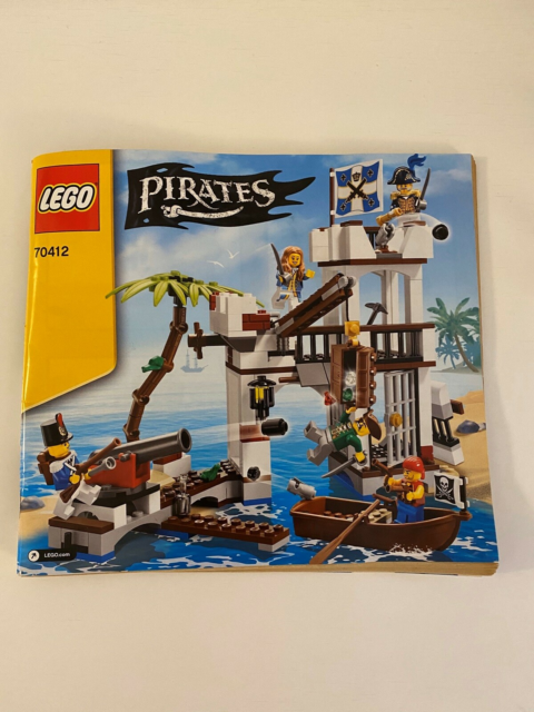 Lego Pirates, 70412, Lego Pirates, model 70412: soldiers…
