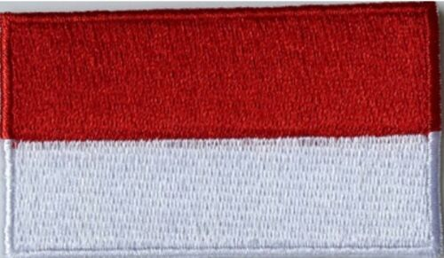 NATIONAL COUNTRY EMBROIDERED FLAG SEW ON// IRON ON PATCH APPROX 6cm x 3.5 cm