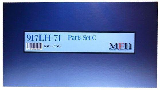 Mfh 1 12 917lh-71 ( Ver.c ) Sarthe 24hours Course 1 12 Complet Détail Kit