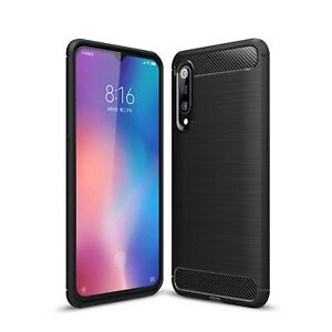 For-Xiaomi-Mi-9-Case-Carbon-Fibre-Gel-Cover-Ultra-Slim-Shockproof