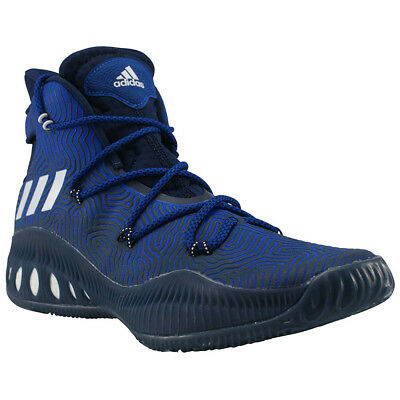 Bescheiden Adidas Crazy Explosive Herren Basketballschuhe Schuhe Turnschuhe Trainers Blau Erfrischung