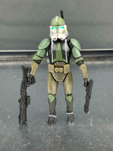 "Star Wars Republic Commander Gree Clone Trooper 3.75/"" Loose Action Figure"