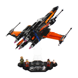 Display-stand-for-LEGO-Star-Wars-Poe-039-s-X-Wing-75102
