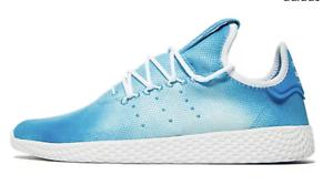 Details about adidas ADIDAS PW TENNIS HU DA9618 Bright Blue Pharrell Williams Clouds Shoes c1