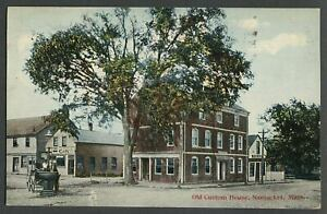 Nantucket Ma C 1912 Postcard Old Custom House Pacific Club Water Main Streets Ebay