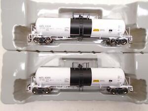 Athearn-Genisis-HO-GATC-20k-Tank-Cars-2-GATX-sr203