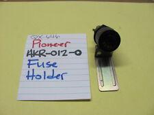 PIONEER AKR-012-0 FUSE HOLDER MAIN PWR SPEAKER PROTECTION QX-646 QUAD RECEIVER