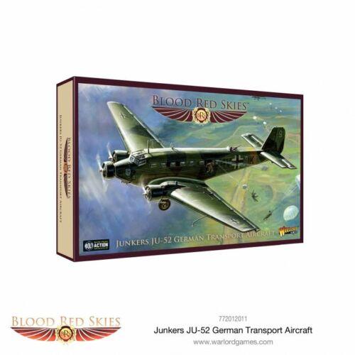 Junkers JU-52 Ger Warlord Games /> Blood Red Skies /> Blood Red Skies 772012011