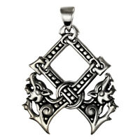 Sterling Silver Othala Pendant By Dryad Design Asatru Norse Viking Runes Jewelry