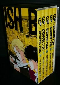JAPAN-Akimi-Yoshida-manga-LOT-Banana-Fish-vol-6-10-Set-Reprint-BOX-vol-2