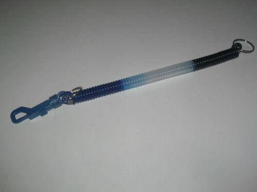 Porte Clés Moderne Gadget Keychain Mousqueton Ressort 34 cm 6 Colorie au choix