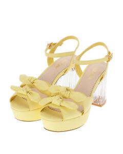 Details about LIZ LISA - Double ribbon clear heel sandals ( Japan kawaii  lolita ) d87dbab3a05d