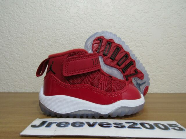 new arrival d1e4d 74c41 Jordan Retro 11 BT Sz 2c 100 Authentic Win Like 96 XI Toddler 378040 623