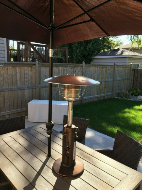 Mosaic Tabletop Patio Heater For