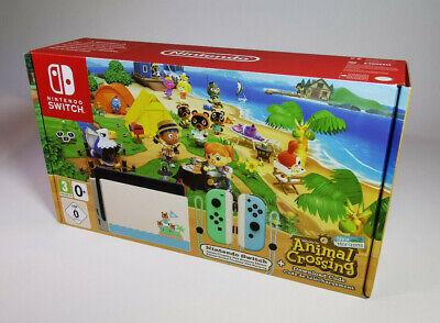 Nintendo Switch Animal Crossing New Horizons Edition ...