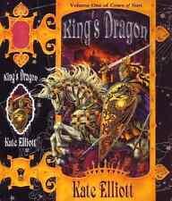 KATE ELLIOTT KING'S DRAGON BK 1 CROWN OF STARS HARDCOVER 1ST ED NEW RARE OOP