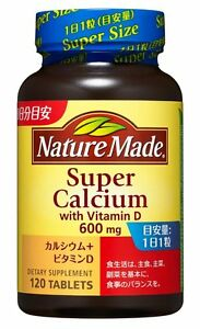 Details About Nature Made Super Calcium 600 Mg With Vitamin D 120 Tablets Health Beauty Japan