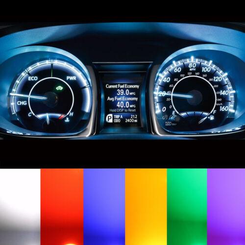 Mercedes R170 SLK Tachobeleuchtung Cockpit weiß rot blau grün LED Tacho Set