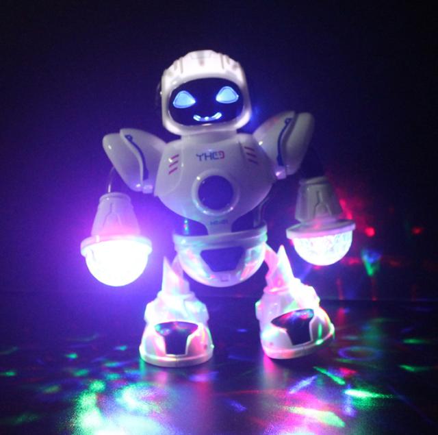 Kid Toy Robot Led Smart Walking Dance Musical For Kids Christmas Toy Robot Gift