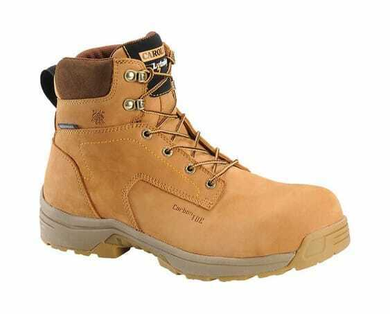 Carolina Men's Lytning 6  Carbon Composite Work Boot Wheat Nubuck