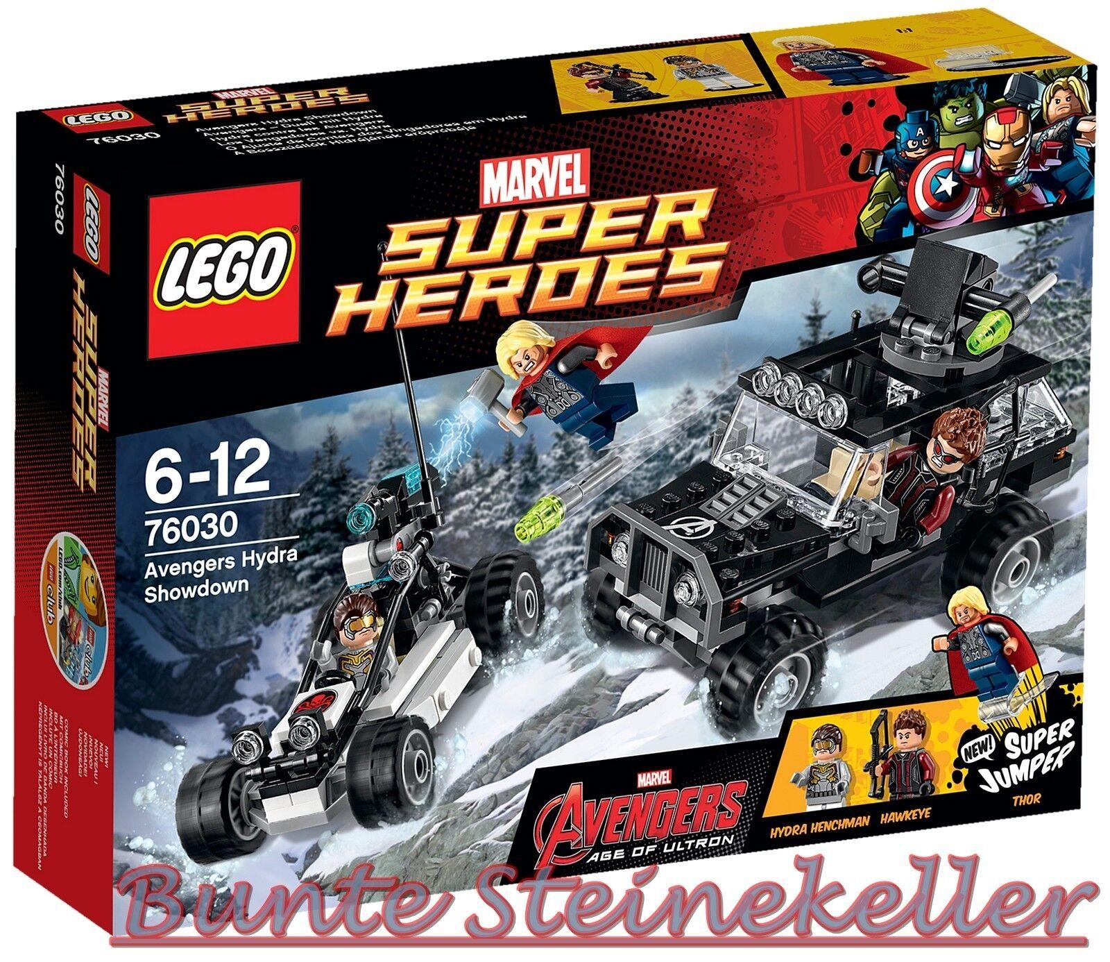 LEGO® Super Heroes  76030 76030 76030 Avengers – Duell mit Hydra & 0.- Versand & OVP & NEU ed33f3