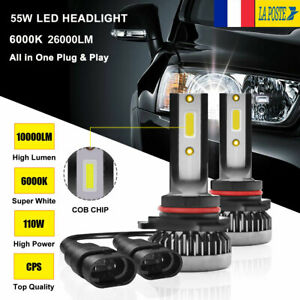 110W-9005-HB3-20000LM-voiture-LED-phare-ampoules-lampes-Feux-Kit-Blanc-6000K