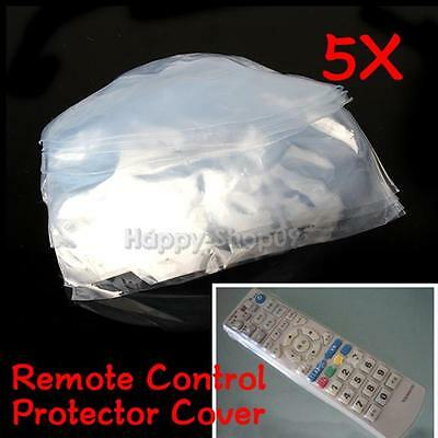 5X Heat Shrink Film TV Air Conditioner Video Remote Control Protector Cover Hot