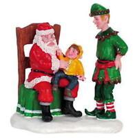 Lemax Christmas Village Visiting Santa 62301